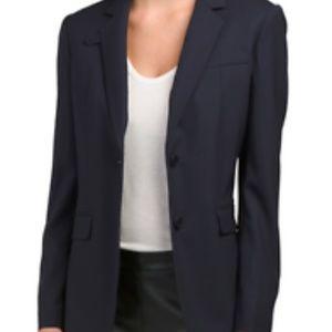Theory Wylla Long Sleeve Two-Button Blazer Size 8